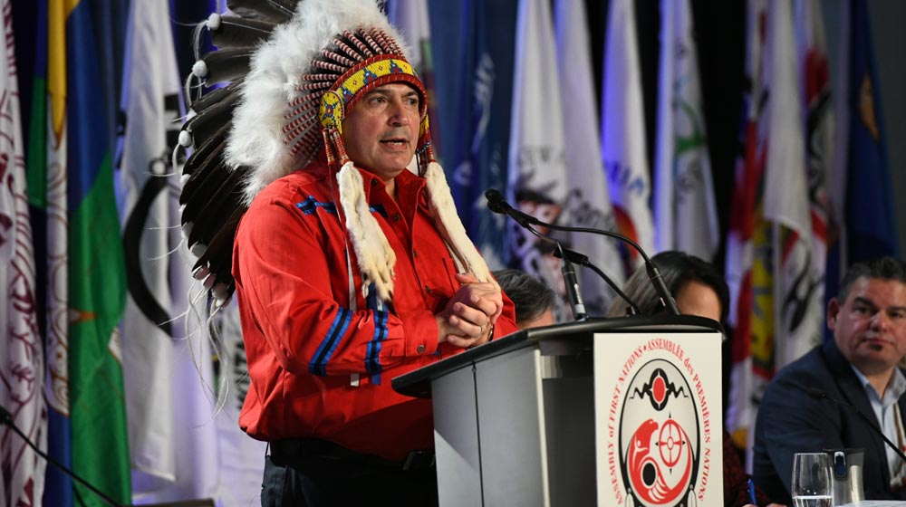 National Chief Says Big Changes Coming, Ministers of the Crown Promise the Same. APTN National News