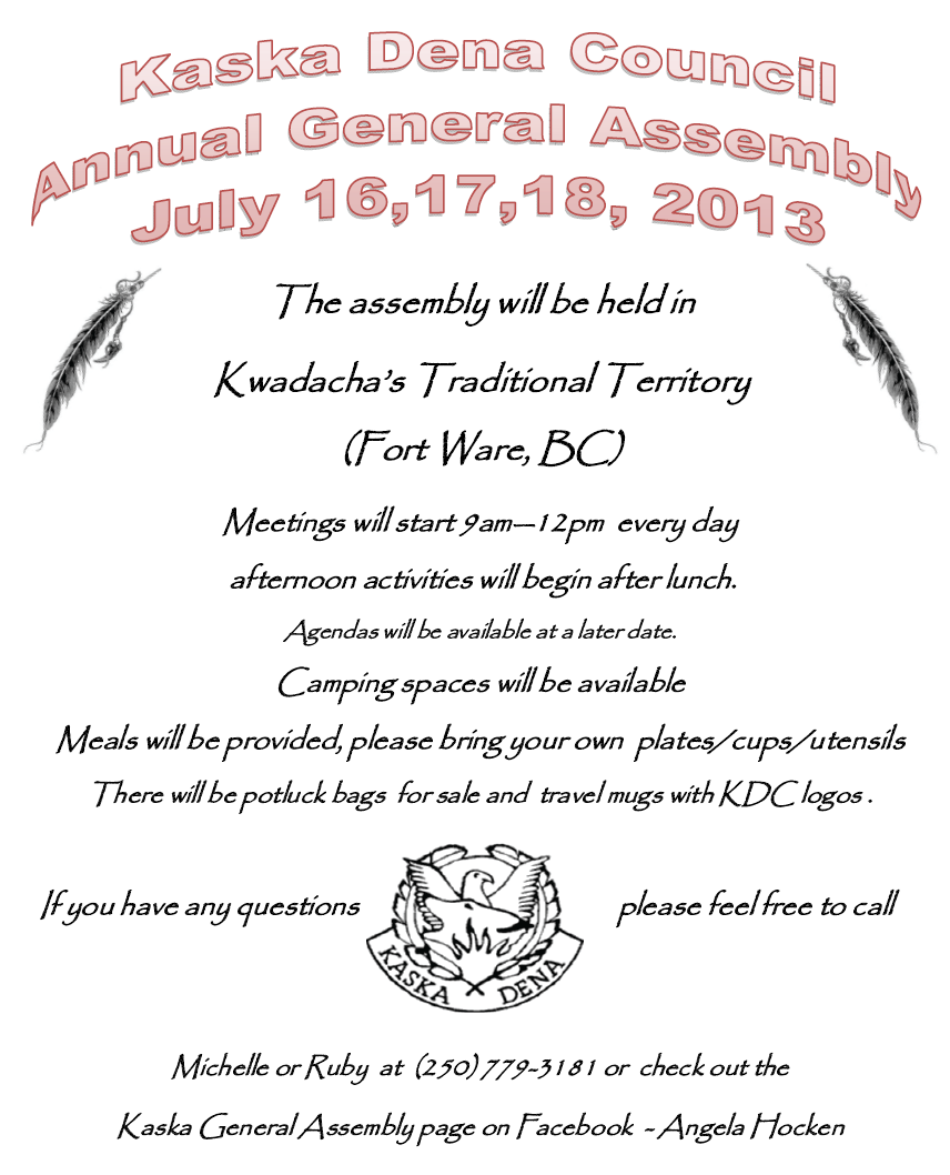 KDC General Assembly 2013 poster