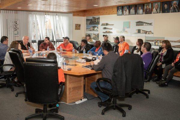 Premier Horgan meeting with Daylu Dena Council and Kaska representatives